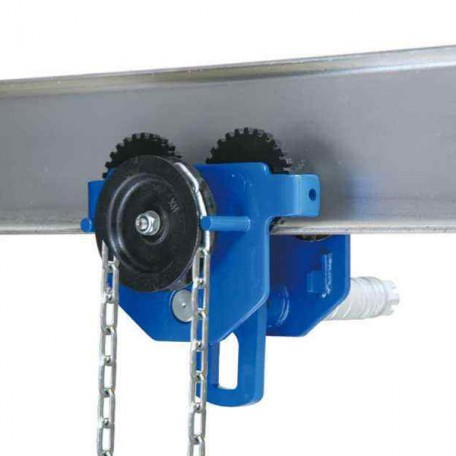 Geared Beam Trolley from Top Lifting Ltd